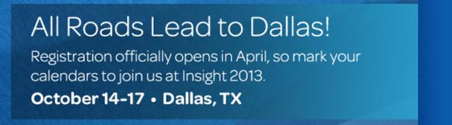All Roads Lead to Dallas