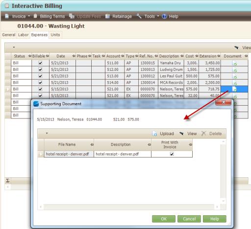 Interactive Billing